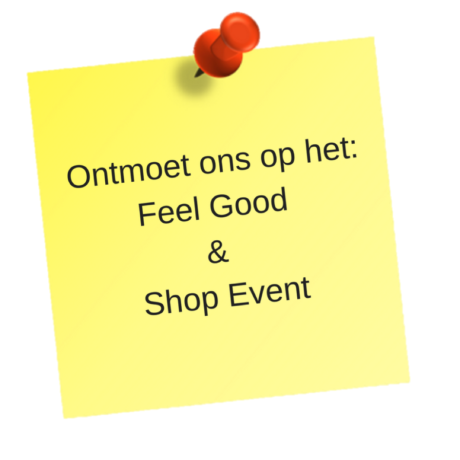 Feel Good & Shop Event note