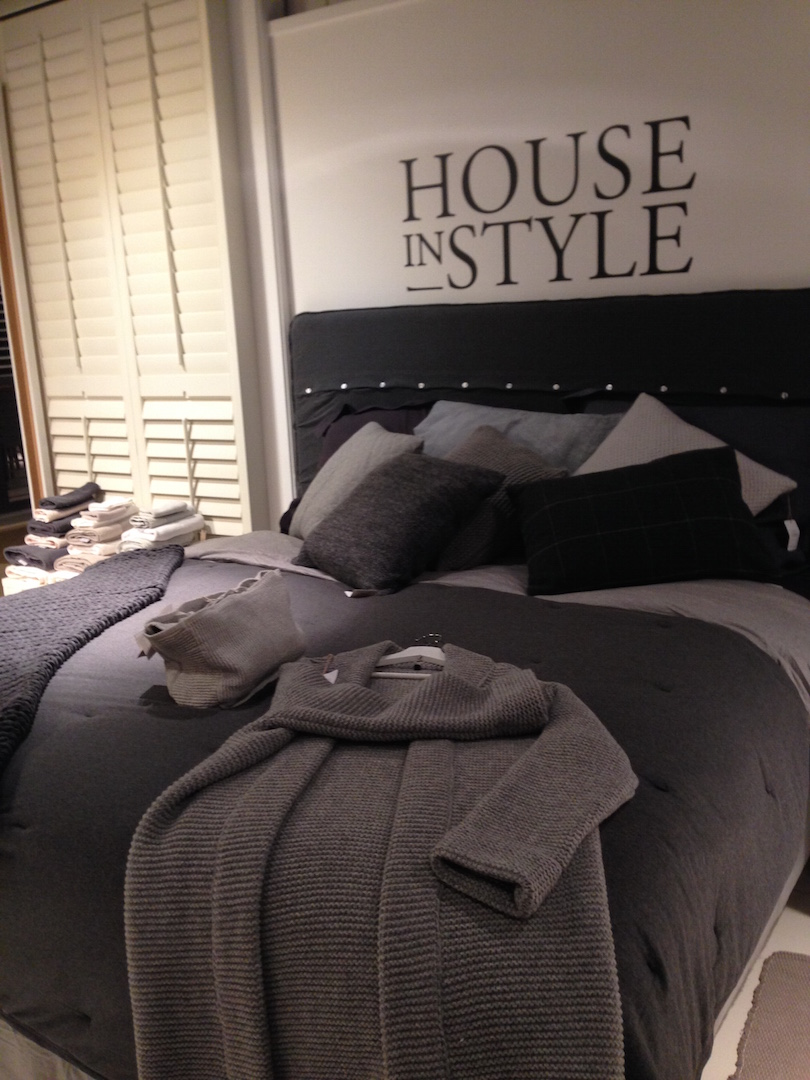 PR-event House in Style. Dit bed is door Styling-ID gestyled