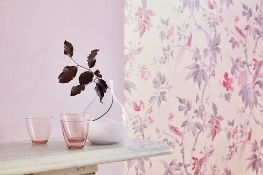"Little Greene limited edition paint and wallpaper ""Pink"""