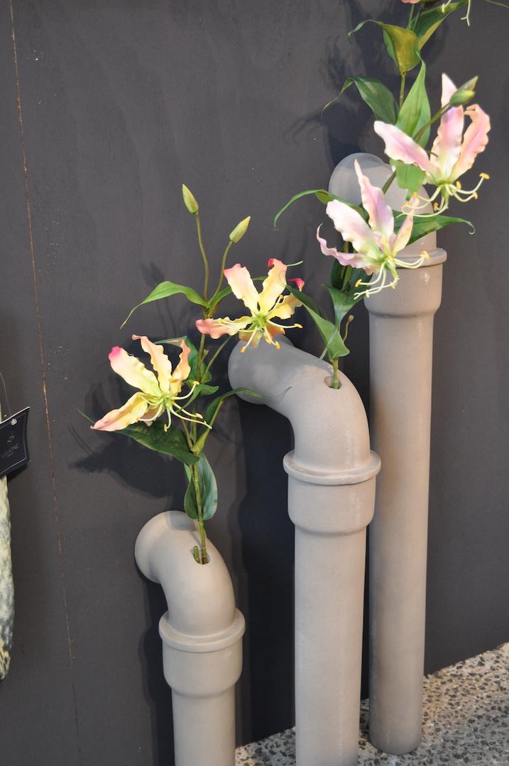 Styling ID Blog: Betonnen design, interieur accessoires regenpijp van Lyon Beton