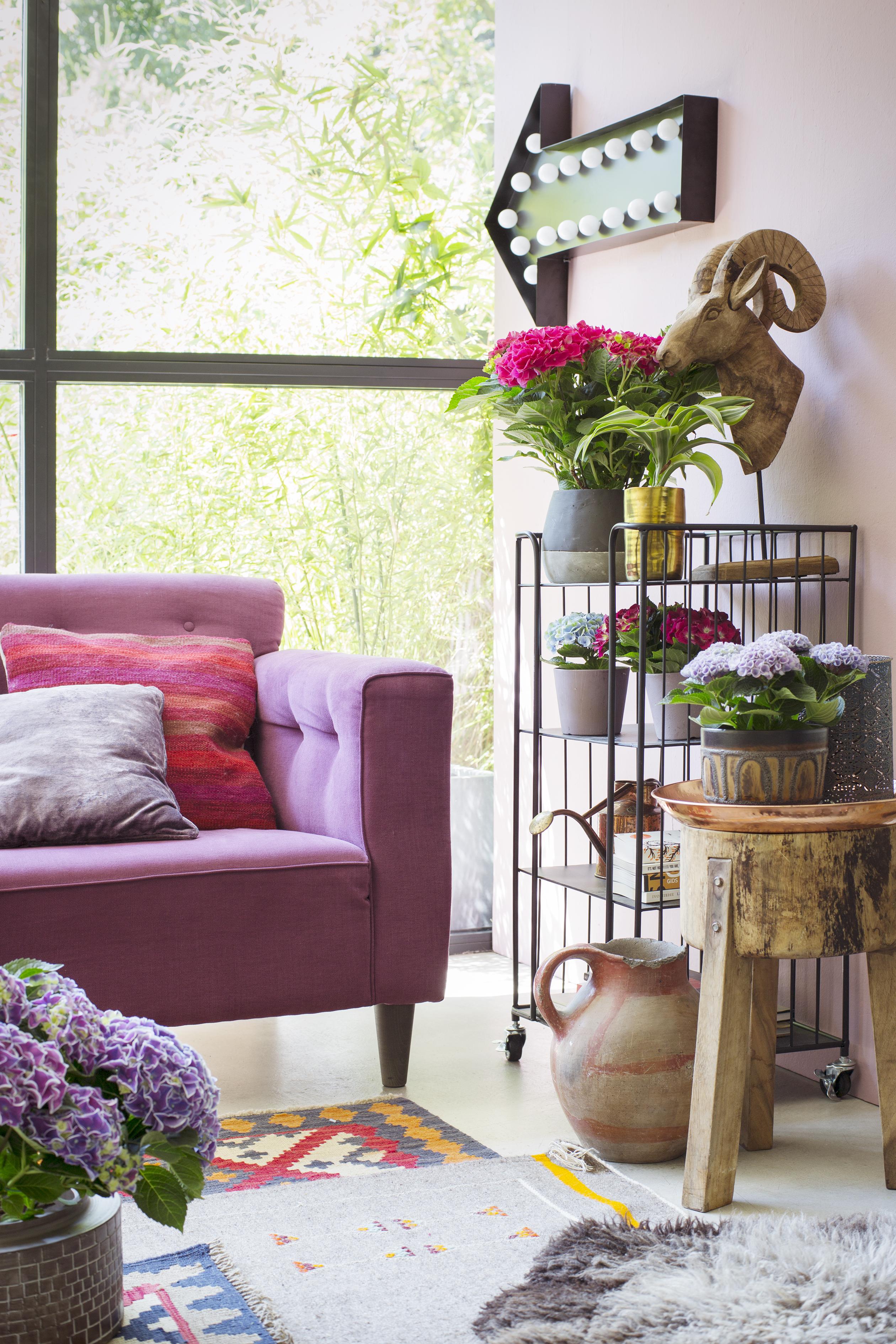 Interieurstylen met de Hortensia bohemian stijl