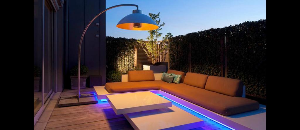 styling id tips en trends stijlvolle terrasverlichting en verwarming van het merk dome via haw