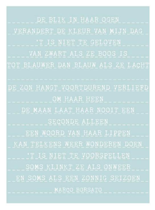 Styling ID blog Zeg het met woorden Songtext poster