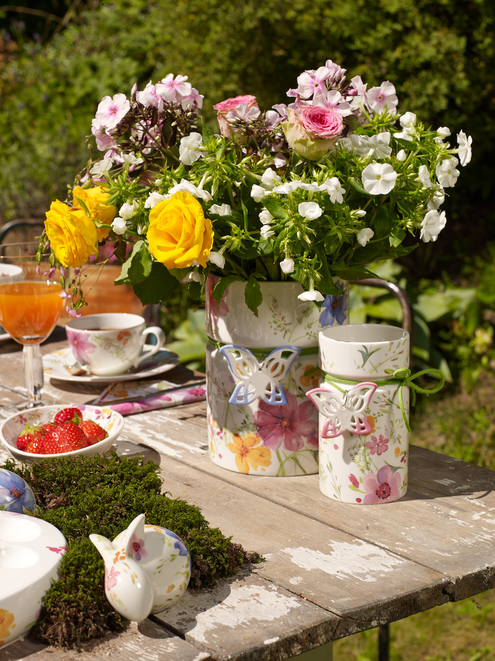 Styling ID Tips & Trends Flower Power Villeroy & Boch MariefleurSpring