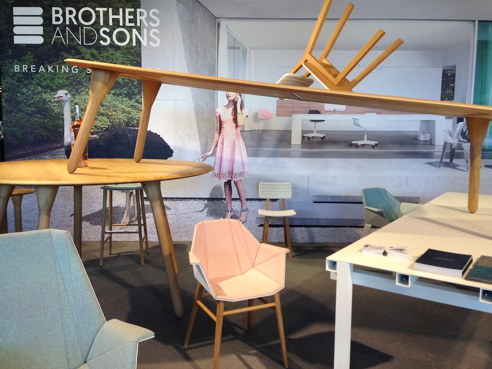 Nieuw Design en Trends gespot tijdens Design District 2017 Brothers and Sons