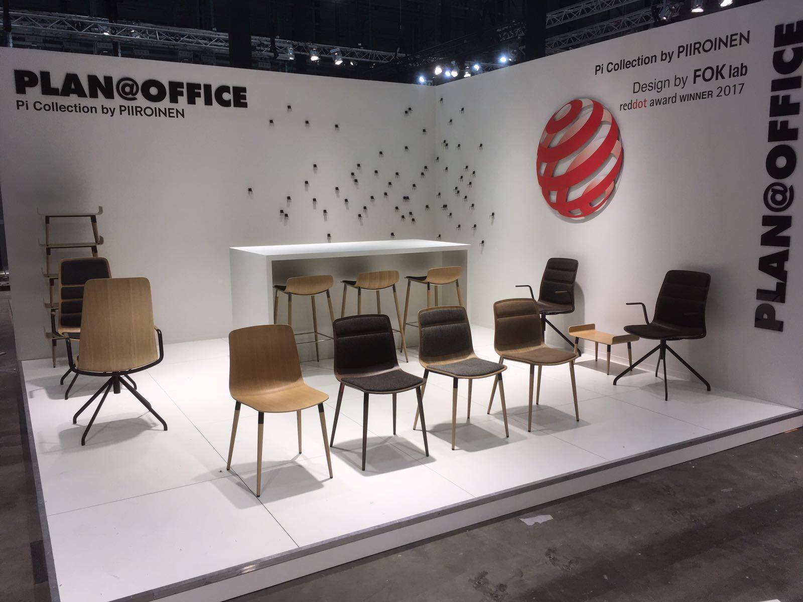 Nieuw Design en Trends gespot tijdens Design District 2017 Pi Chair