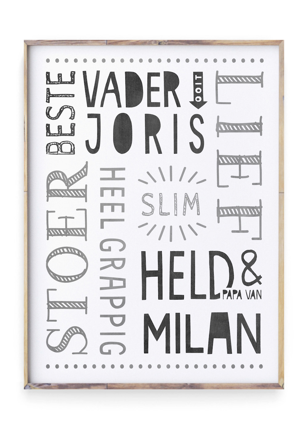 Styling ID Tips & Trends Vaderdag Posters stoer vader