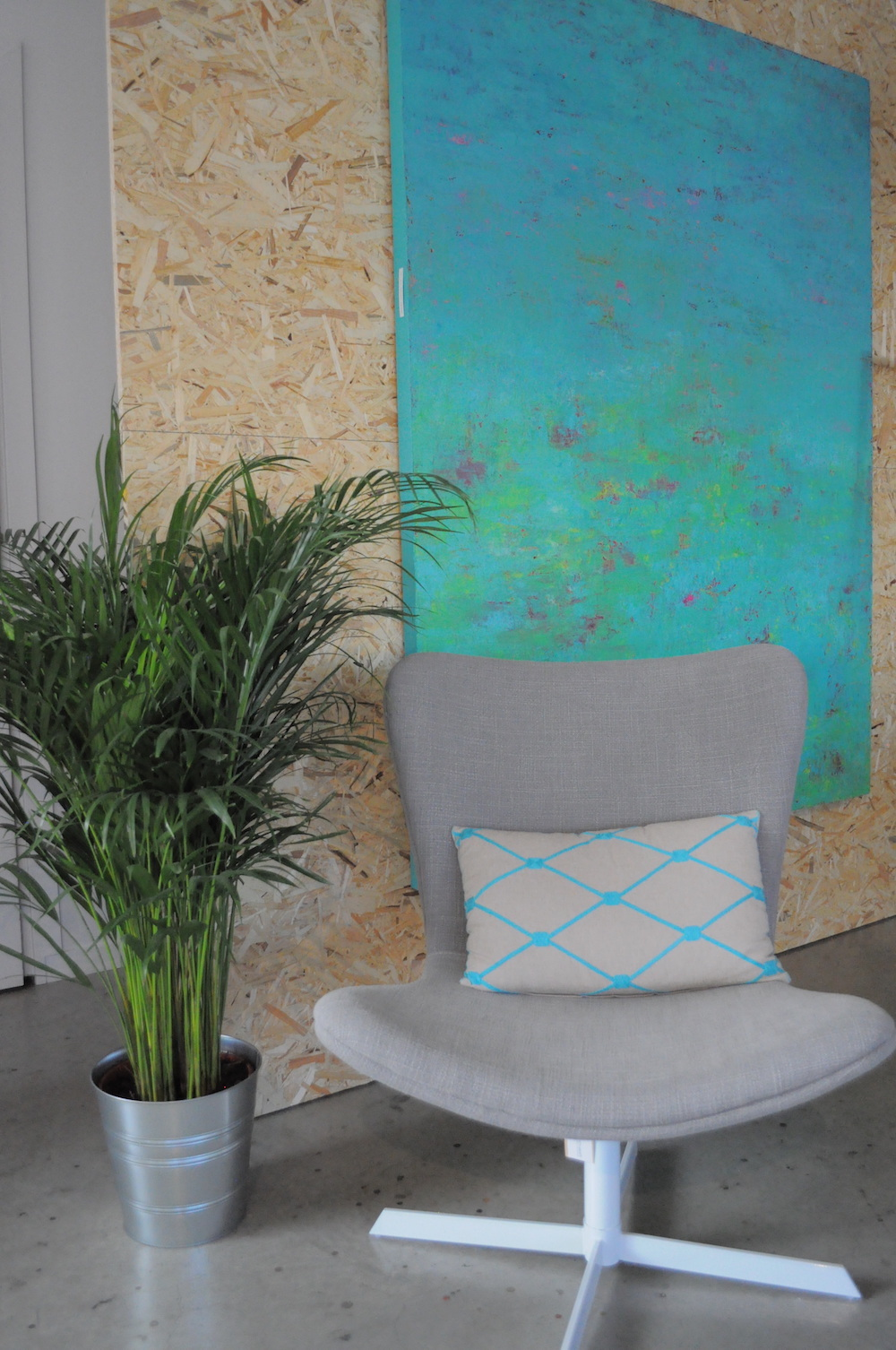 Styling ID blog Kunst in een Musthaves Interieur turquoise