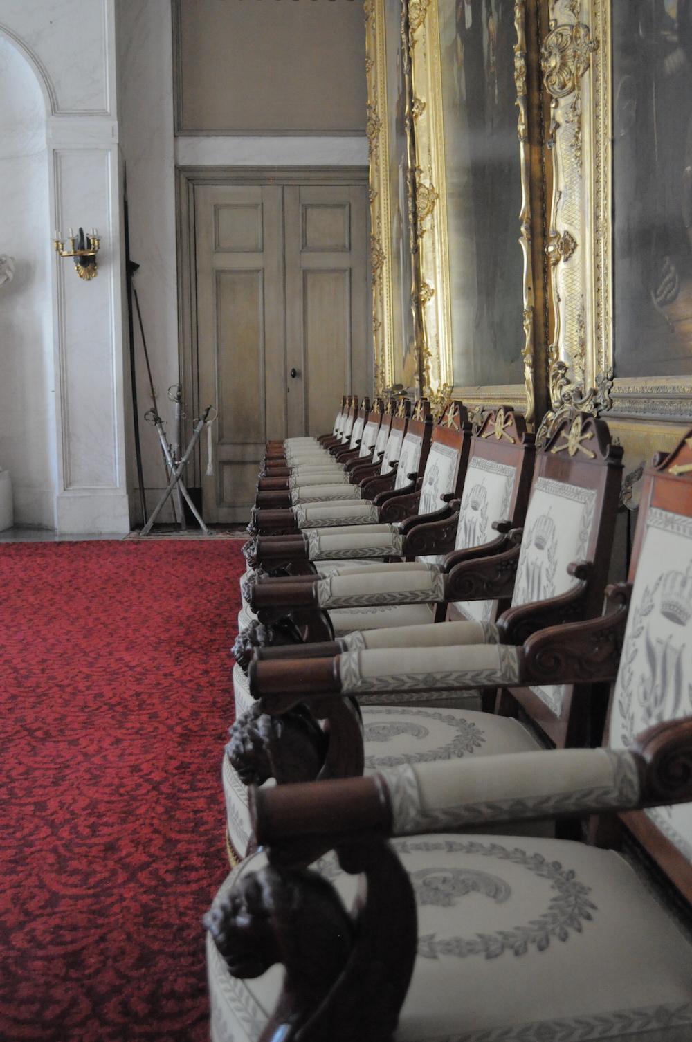 Styling ID Beurzen en evenementen ZomerFair Soestdijk paleis stoelen