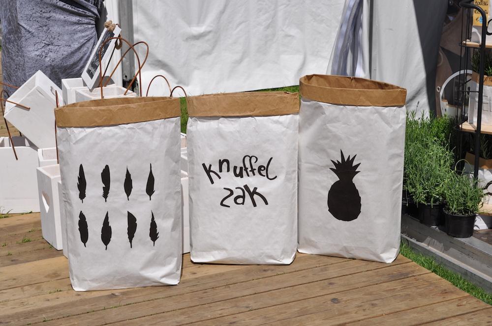 Styling ID Beurzen en evenementen ZomerFair Soestdijk paperbag t-instyle