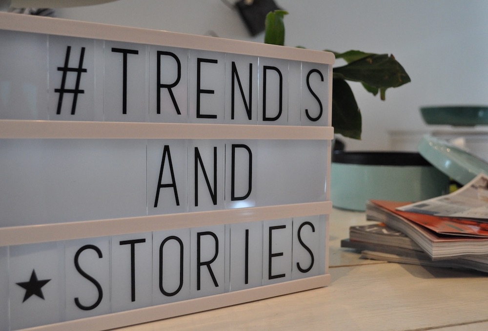 Styling ID beurzen en evenmenten TALK ABOUT pers event trends and stories
