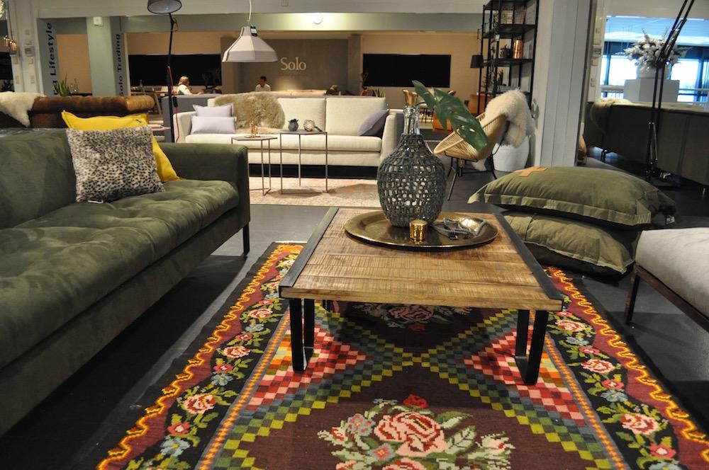 Styling ID bezoekt Stylistendag in de woonindustrie Groene meubels