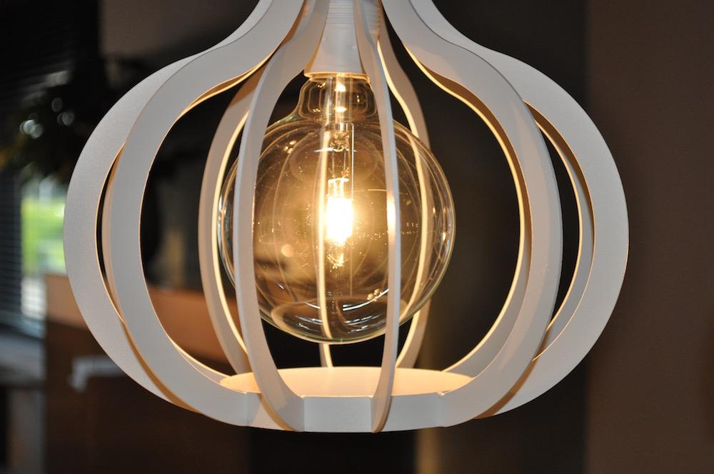 Styling ID bezoekt Stylistendag in de woonindustrie industrieel hanglamp