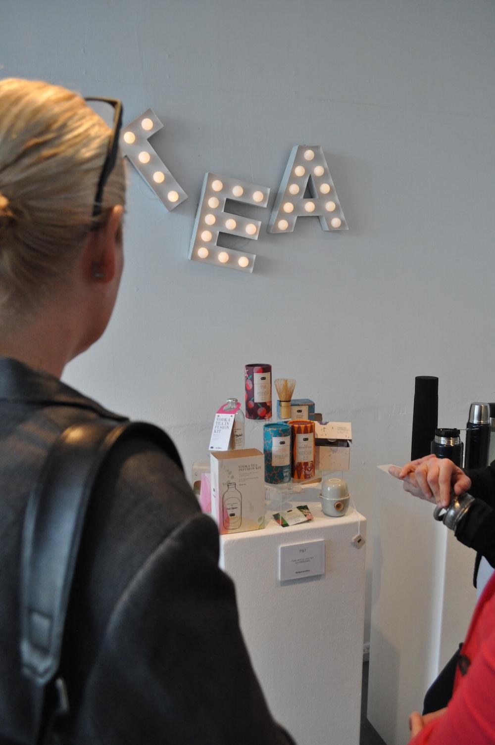 Styling ID bij Persevent van Talk About Amsterdam tea