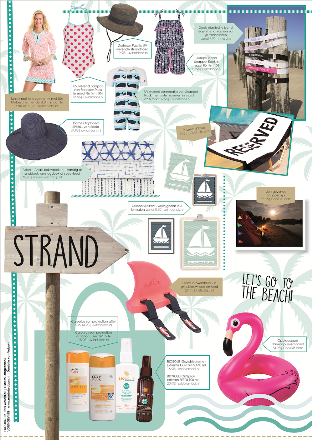 Styling ID blog Vakantie shoppingspecials strand