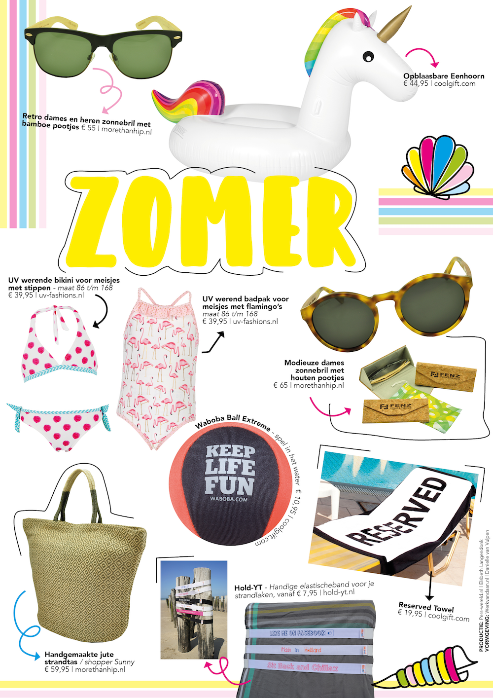 Styling ID blog Vakantie shoppingspecials zomer