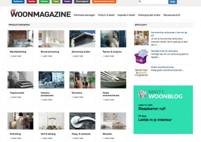 Nancy's Woonblog op UW-woonmagazine.nl