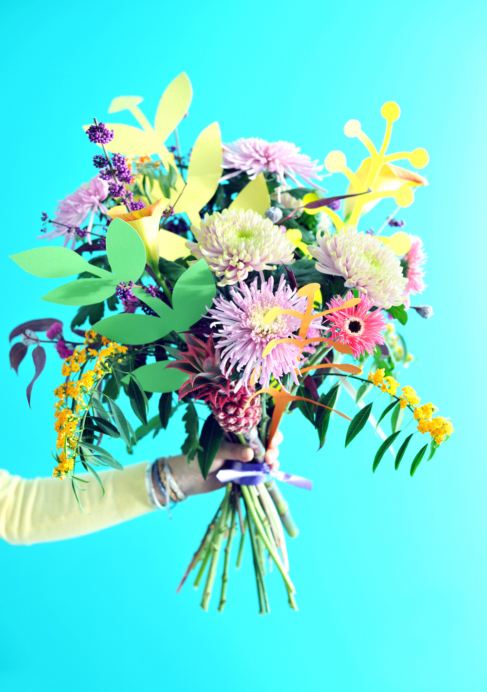 Styling ID Tips en Trends stylen met rebelse bloemen Chrysant
