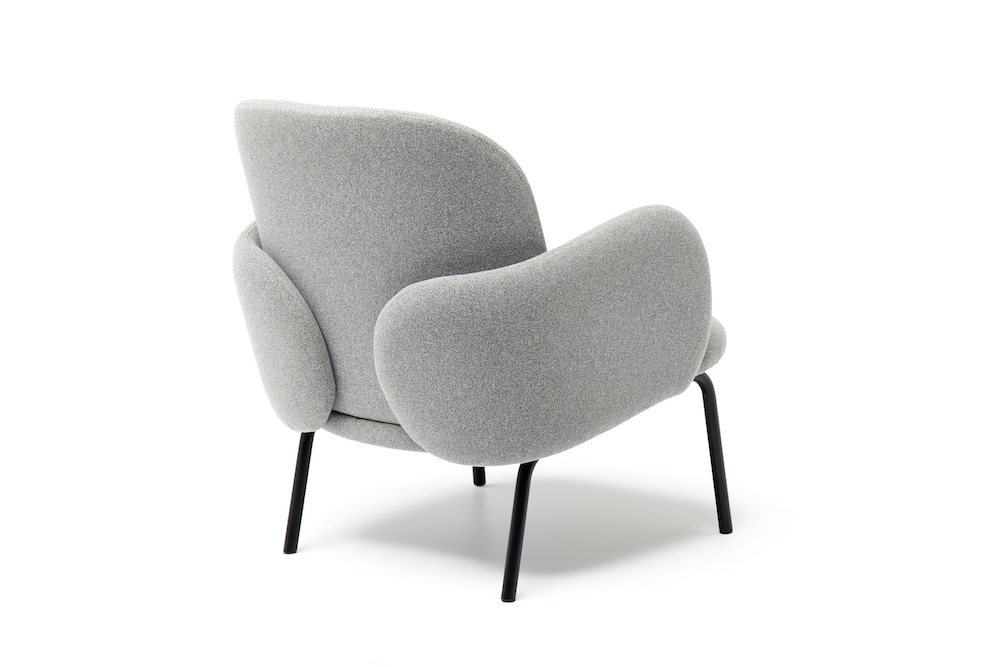 Styling ID tips en trends Puik is Jarig fauteuil dost lichtgrijs achterkant