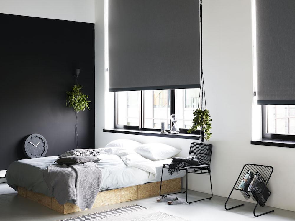 Styling ID Tips&Trends Verduisterende raamdecoratie voor een goede nachtrust ouder slaapkamer