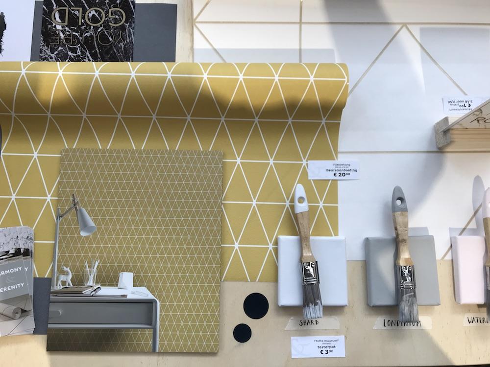 Styling ID Blog Highlights van de vtwonen & designbeurs 2017 Graham & Brown gold