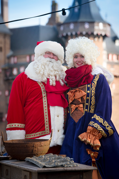 Styling ID beurzen en evenementen Christmas Fair kerstman