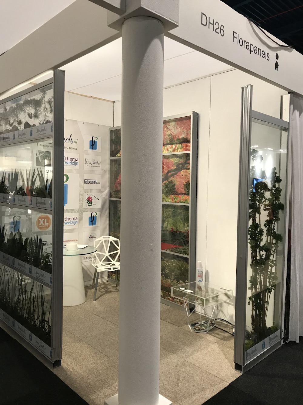 Styling ID blog Bruisende Beurs Eigen Huis inspireert. Florapanels