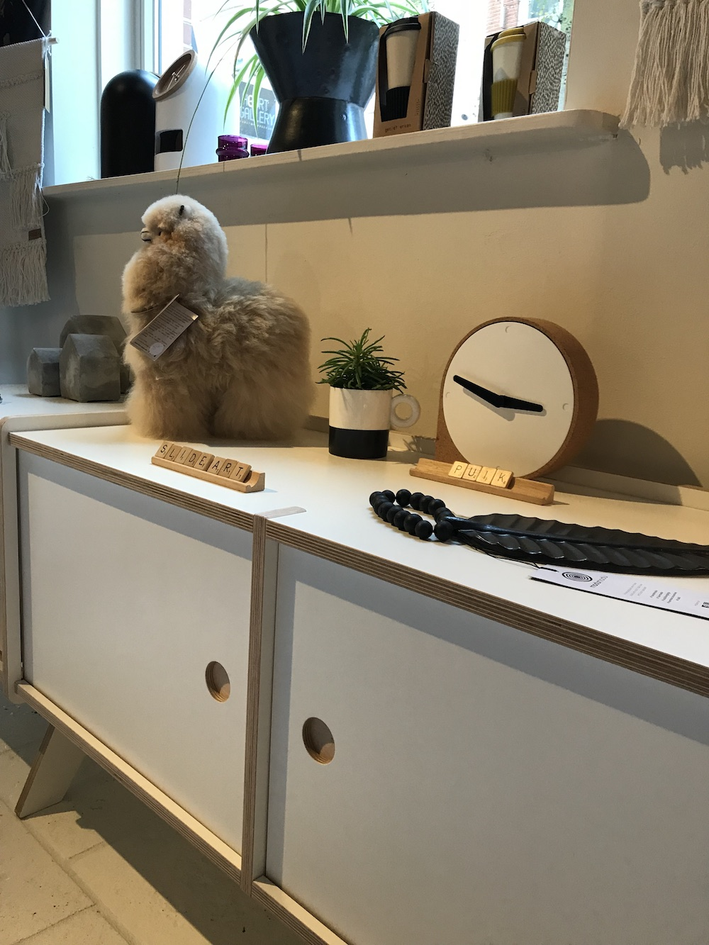 Styling ID blog SLIDEART functioneel interieurdesign bij Vandaag dressoir