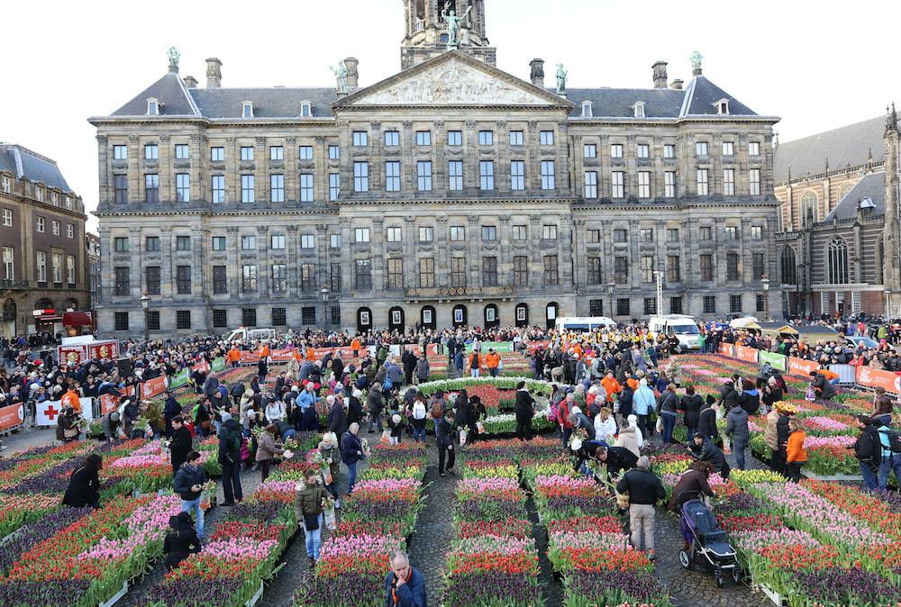 Styling ID Beurzen & Evenementen Nationale Tulpendag, zaterdag 20 januari 2018 amsterdam