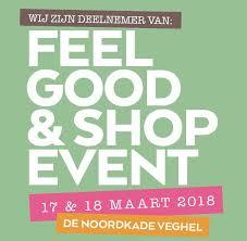Feelgood & Shopevent 17-18 maart 2018