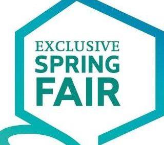 Exclusive Spring Fair 30 maart t/m 2 april 2018