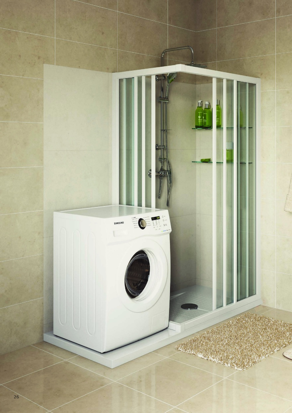 Styling ID Tips en Trends Een senior-proof badkamer in een dag douche en wasmachine