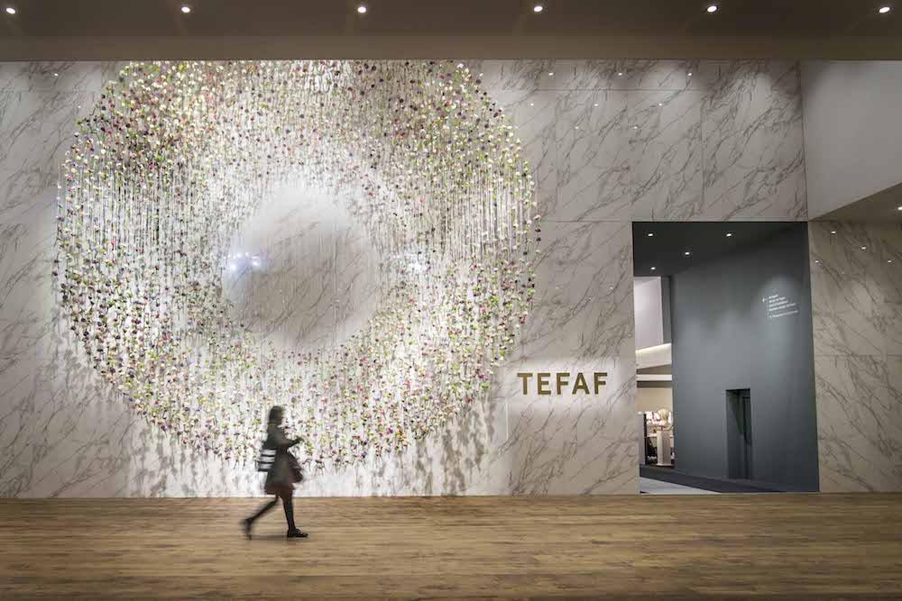 Styling ID beurzen en evenementen, voor de kunst antiek en designliefhebbers TEFAF Maastricht