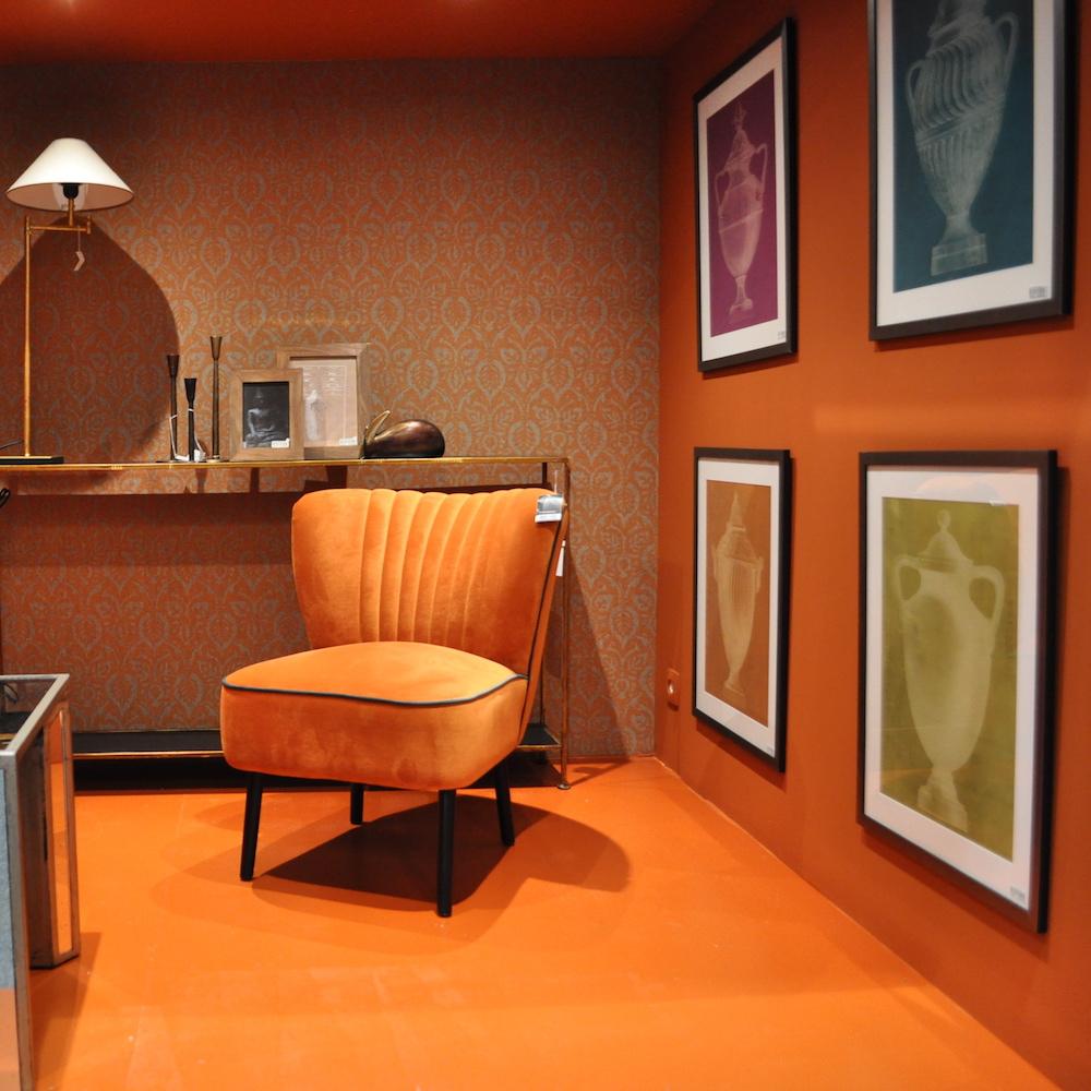 Leve Oranje in het interieur