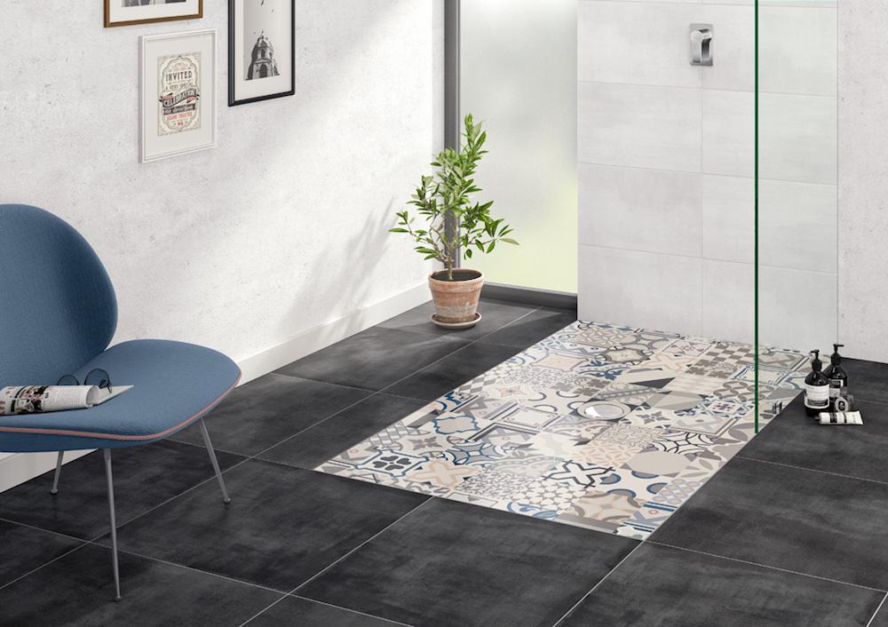Styling ID Tips en Trends Inloopdouche met Dutch design vloer 3