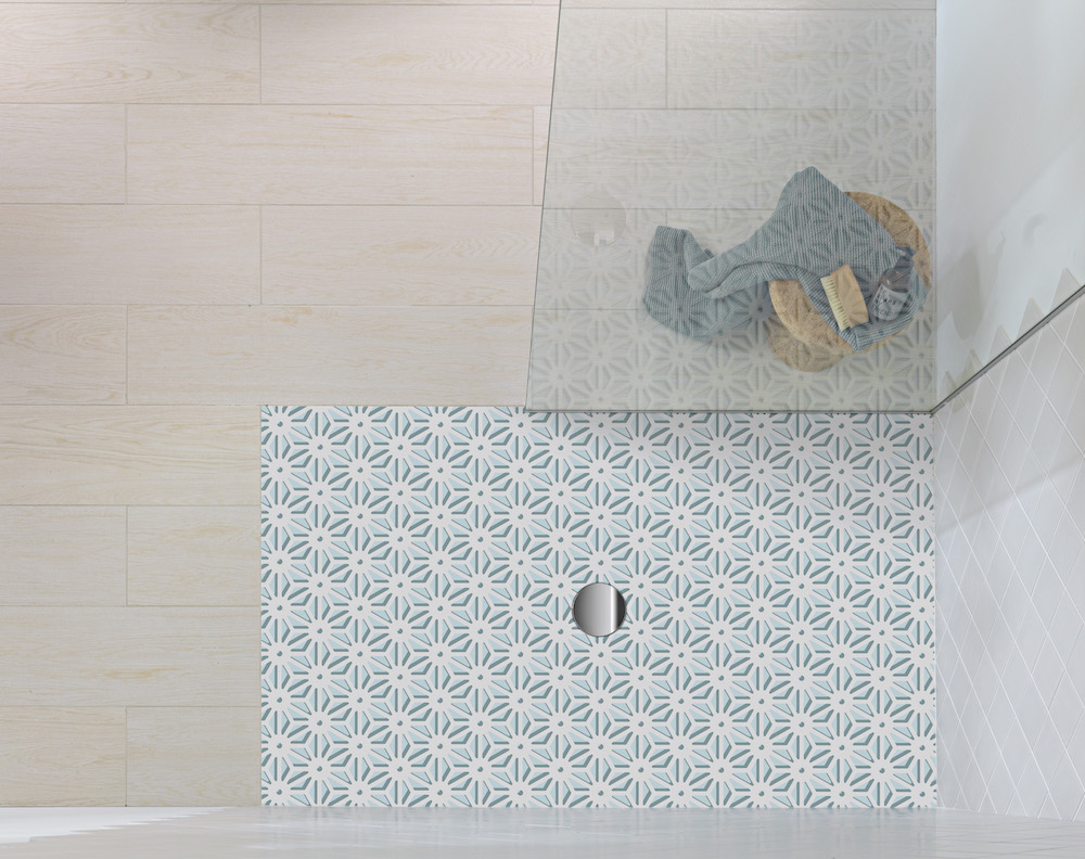 Inloopdouche met Dutch design vloer