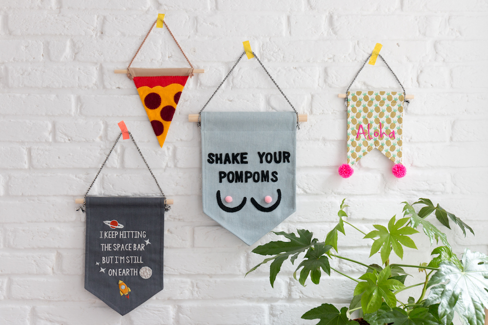 Styling ID Tips en Trends Leuke handgemaakte muurdecoratie