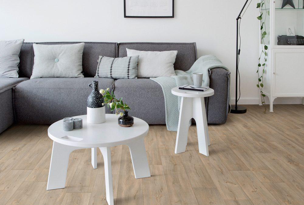 Mooie PVC vloer op rol met trendy design