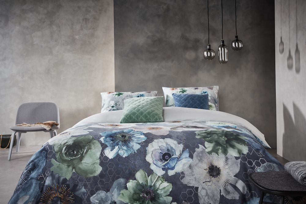 Styling ID Tips en Trends bedtextiel met kleurrijke dessins Composer_Blue Grey-21_Mood