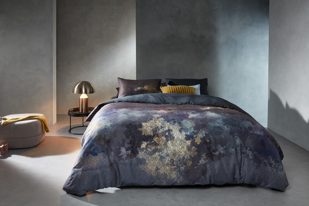 Styling ID Tips en Trends bedtextiel met kleurrijke dessins Metamorphose_Blue-21_Mood