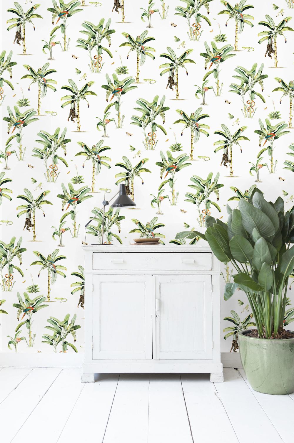 Styling ID Tips en Trends Haal de jungle in huis, met behang van Creative Lab Amsterdam 4