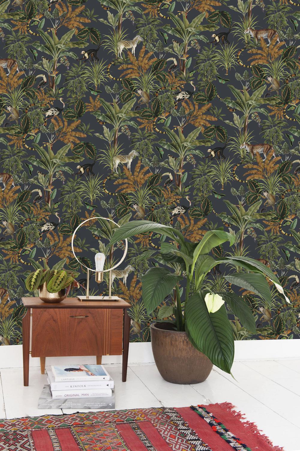 Styling ID Tips en Trends Haal de jungle in huis, met behang van Creative Lab Amsterdam 6
