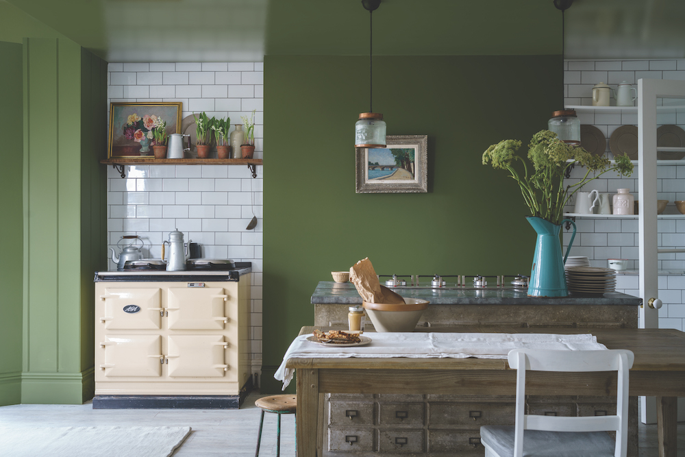 Styling ID Tips en Trends Farrow and Ball introduceert 9 nieuwe verfkleuren Bancha No.298 (Traditional) 2