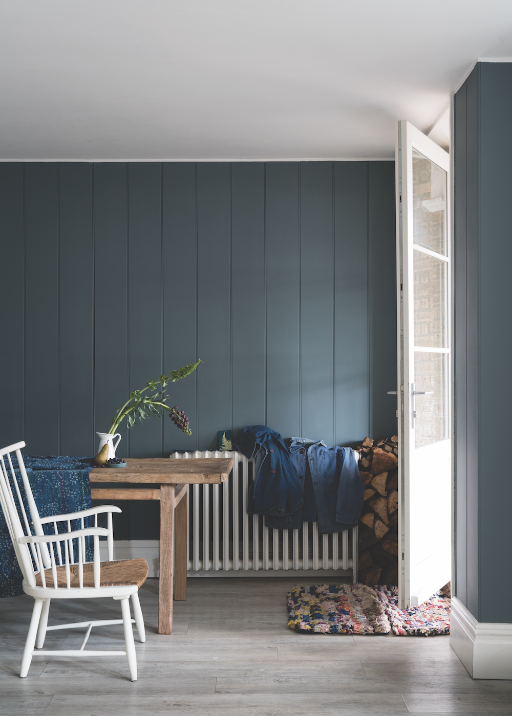 Styling ID Tips en Trends Farrow and Ball introduceert 9 nieuwe verfkleuren De Nimes No.299 (Traditional) 2