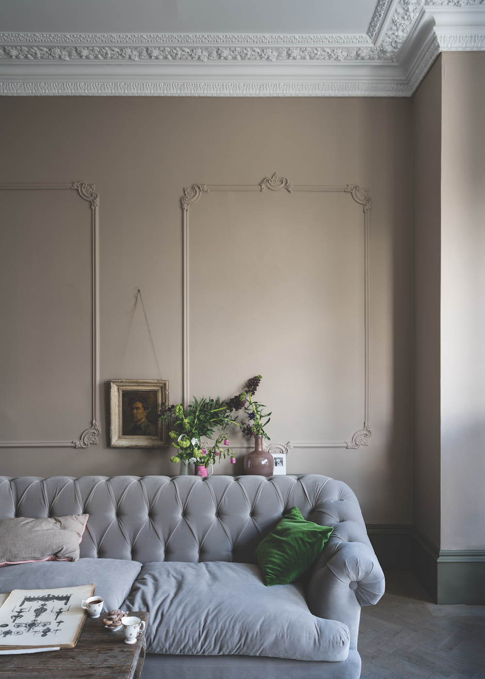 Styling ID Tips en Trends Farrow and Ball introduceert 9 nieuwe verfkleuren Jitney No.293 (Traditional) 2