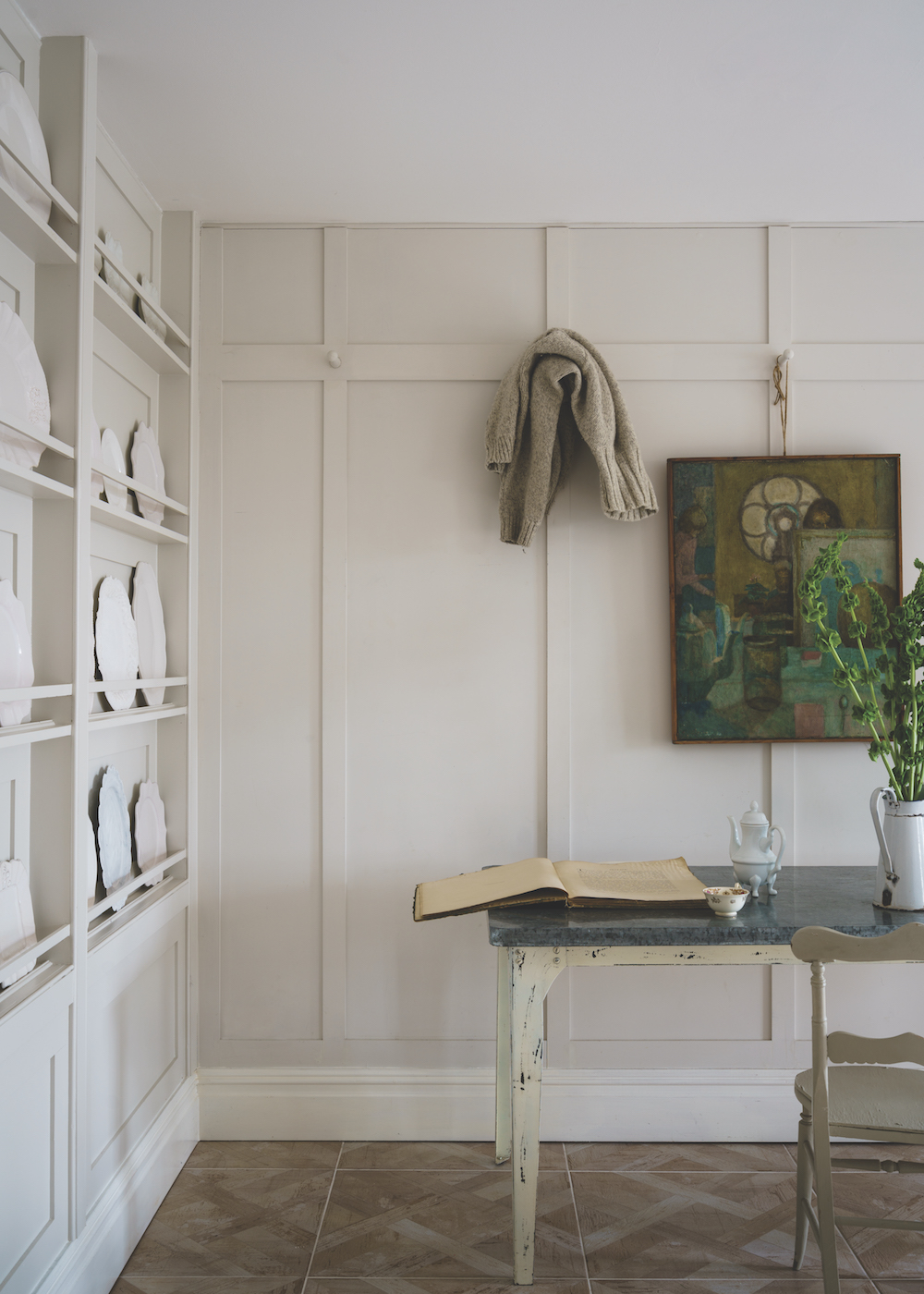 Styling ID Tips en Trends Farrow and Ball introduceert 9 nieuwe verfkleuren School House White No.291 (Traditional)