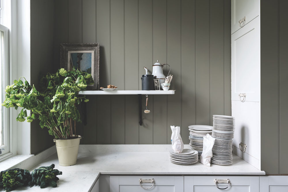 Styling ID Tips en Trends Farrow and Ball introduceert 9 nieuwe verfkleuren Treron No.292 (Traditional)