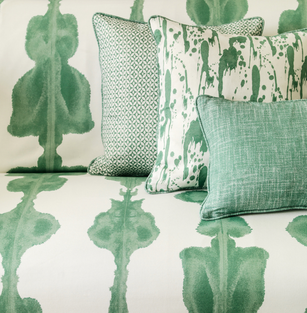 Styling ID Tips en Trends Prachtige dessins en warme kleuren verrijken ons interieur --Gedessineerde stoffen - Korla - by Match Trading - ETC Design Center Europe