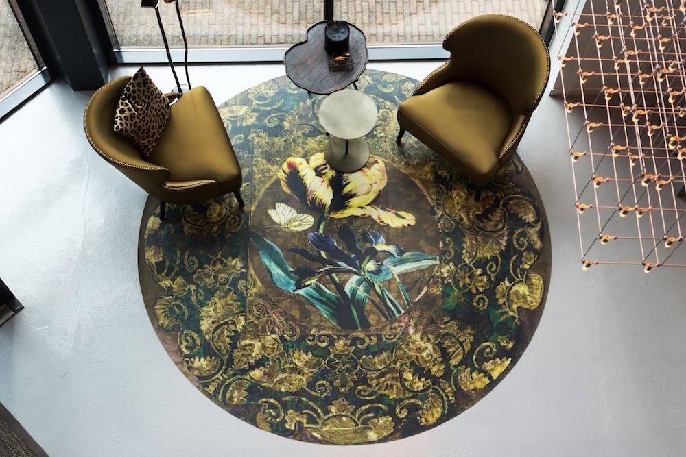 Styling ID Tips en Trends Prachtige dessins en warme kleuren verrijken ons interieur -- La Aurelia Carpet - by la Aurelia Design - ETC Design Center Europe