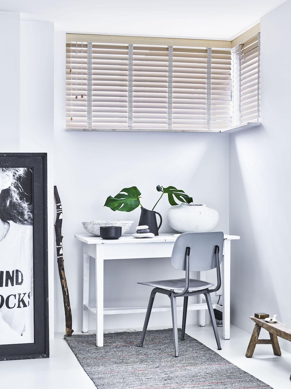 Horizontale jaloezieën zijn sfeervol toe te passen in iedere ruimte 6 B&C Raamdecoratie
